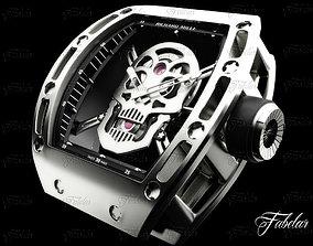 3D model Tourbillon Skull RM052
