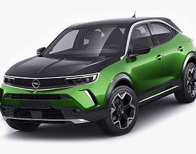 3D Opel Mokka-E 2021