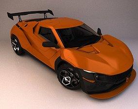 Tata Racemo concept 3D model