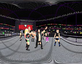 3D asset WWE Game Ready Pack 1 - Wrestling Collection 1