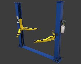 3D asset Car Lift