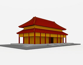 3D model Chinese Style Building