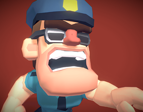 3D model Police Officer Hunter - Proto Series