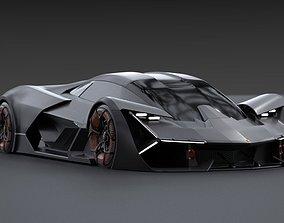 3D Lamborghini Terzo Millennio