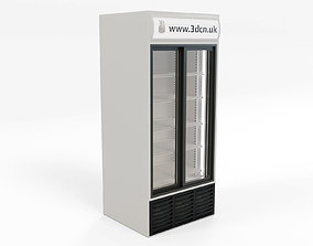 Freezer supermarket display unit 3D model