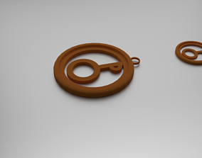 3D printable model Pholus Pendant