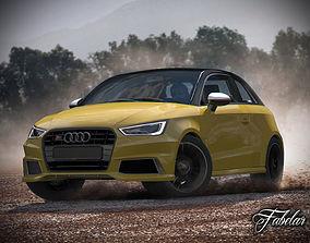3D model Audi S1 Sportback Vray