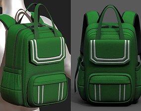 3D model Backpack Camping Generic bag baggage