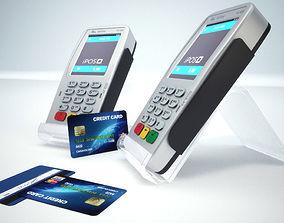 credit card terminal 3D