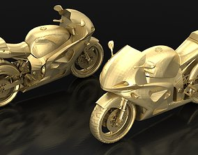 Motorcycle Suzuki 3D print model