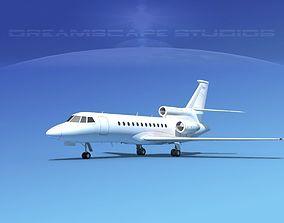 Dassault Falcon 900 V01 3D model