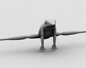 3D model Frog