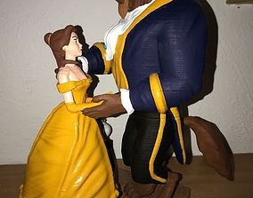 Beauty and the Beast 3d print bete