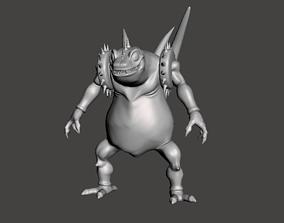 Super Haze Shenron 3D Model