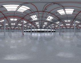 warehouse 3D HDRI - Industrial Warehouse Interior 8