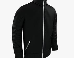 Black Man Jacket 3D model