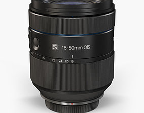 Samsung 16-50mm F 2-2-8 S ED OIS Lens 3D model