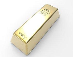 Gold Bullion 3D