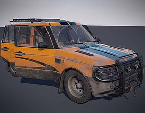 Offroad vehicle 3D model