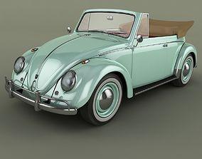 Volkswagen Beetle Cabrio 3D model