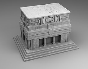 3D printable model Large temple of Maya