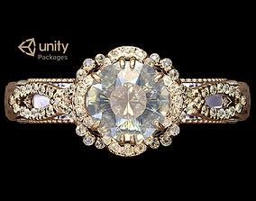 3D model Ring Venetian Unity PKG
