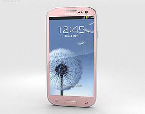 Samsung Galaxy S3 Neo Pink 3D