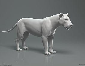 3D model Lion - Highpoly Sculpture