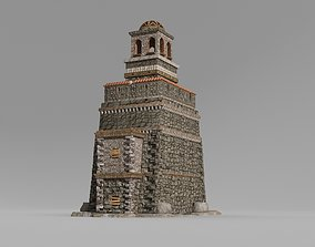 3D Remains of an ancient multi-storey council hall