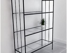 3D model wrought iron shelf
