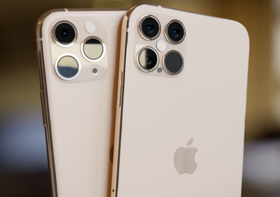iPhone 11 Gold vs iPhone 12 Gold