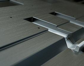 Sci-Fi Floors Set 3D model