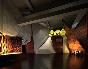 corridor 3D Lobby 002