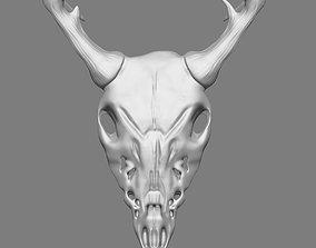 Ram Skull 3D Print Model