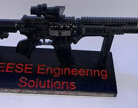 M4 Rifle 3D printable model