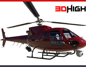 News Helicopter 3D