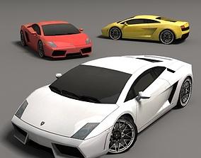3D model Lamborghini Gallardo