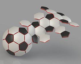 Soccer Ball 32 Panel Construction 3D printable model