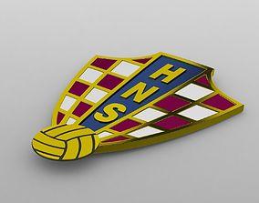 Croatia logo 3D cup