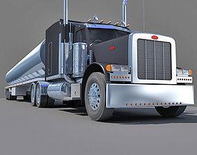 American Tanker Truck 3D model