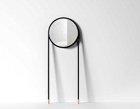 Circular Mirror 3D model