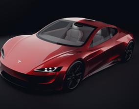 2020 Tesla Roadster 3D model VR / AR ready