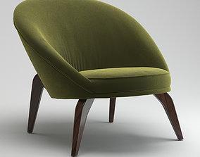 3D model Jean Royere Chair