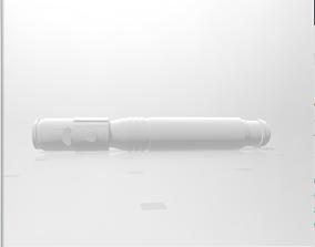 3D print model Mace Windu Lightsaber Handle plastic