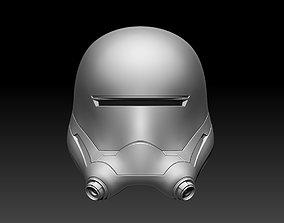 3D printable model Star Wars Flame Trooper Helmet 2