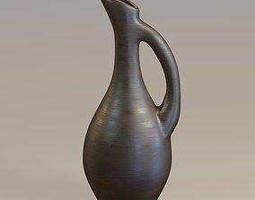 Wooden pitcher 3D model