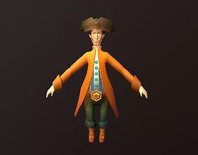 3D model Pirate Sailor