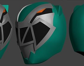 mask 3D print model Mask Kishiryu Sentai Green