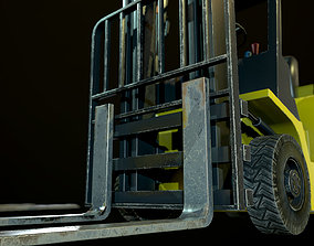 3D model Liftruck with pallet