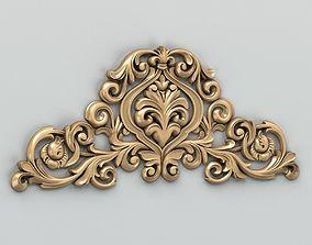 3D Carved decor central 009